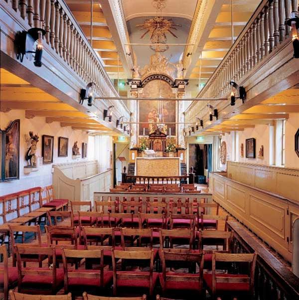La Iglesia clandestina Nuestro Señor del Desván en Ámsterdam