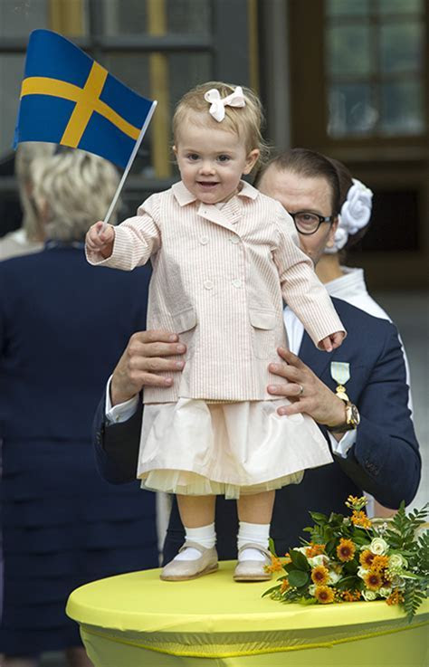 Princess Estelle of Sweden turns two: a gallery of her