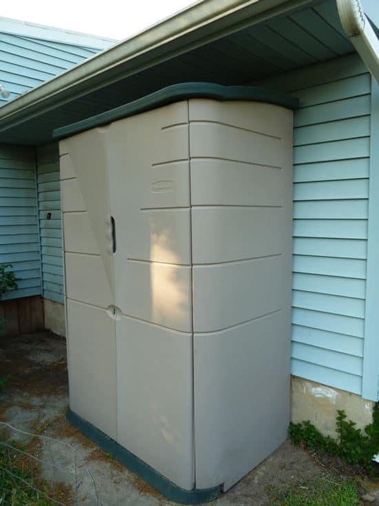Review Rubbermaid Resin Outdoor Storage Shed