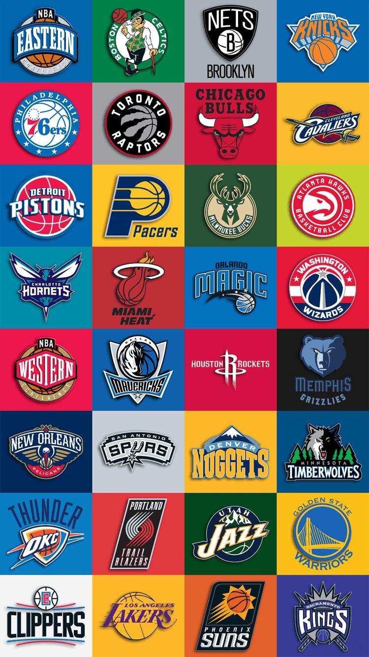 NBA Team Logos Wallpapers 2017 - Wallpaper Cave