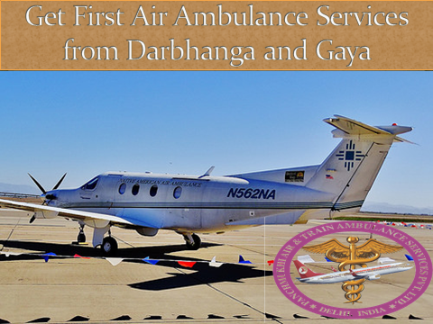 Get highly developed Air Ambulance Services in Darbhanga