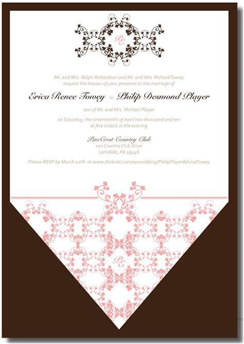 Trish Angelo.Portfolio: Wedding Invitation, Menu