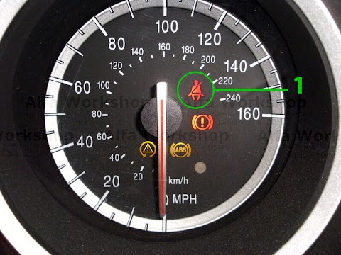 Alfa Romeo 156 Warning Lights