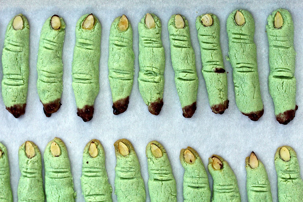 Witch Finger Cookies: Karen's Kitchen Stories