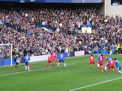 A corner for Chelsea