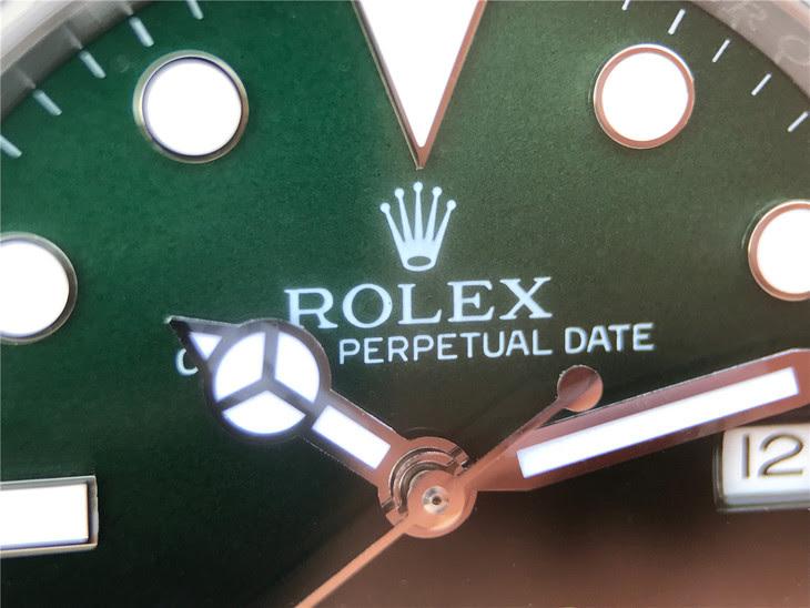 Rolex Sea-Dweller Green Part Dial