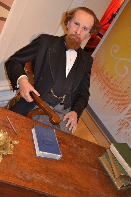 Charles Dickens - Museo Madame Tussauds de Londres, Inglaterra, Reino Unido