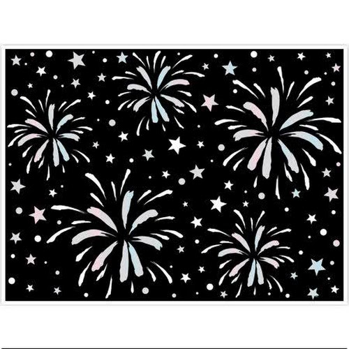 Fireworks New Years Eve Party Photo Booth Backdrop 5ft X 4ft