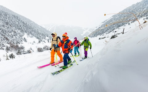 Off-piste challenges and foodie adventures: the wilder side of skiing in Andorra