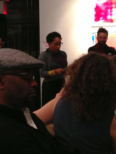 Tisa Bryant reading at Chris Stackhouse book launch