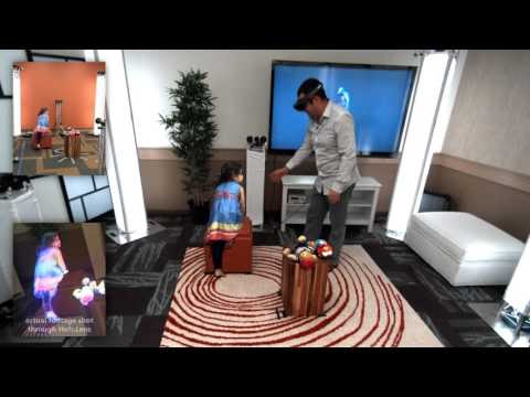Holoportation in your Living Room – it's Here!