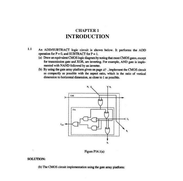 Digital Integrated Circuits A Design Perspective Solution Manual Pdf