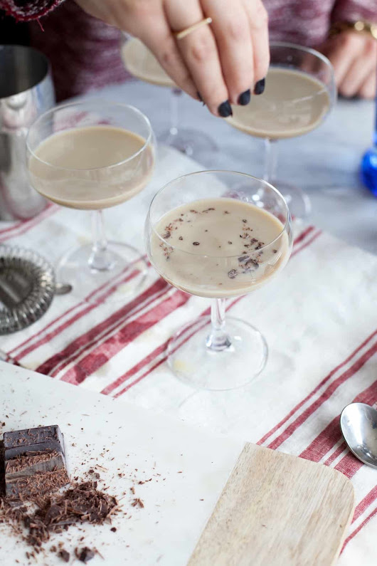 How to make the best chocolate martini you'll ever have - recipe