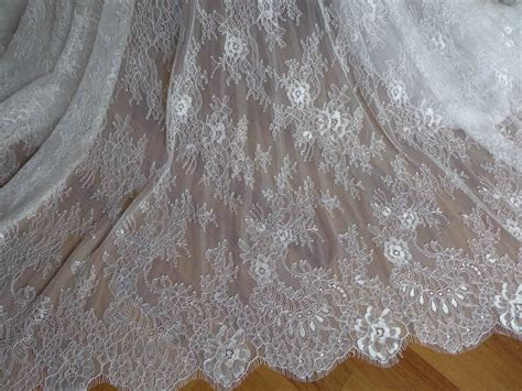 Aliexpress.com : Buy SOFT White French Chantilly Lace