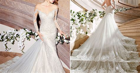 The 25 Most Pinned Wedding Dresses Of 2016   HuffPost