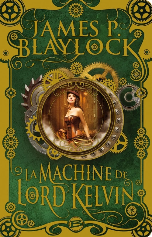 Couverture La machine de Lord Kelvin