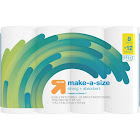 Make-A-Size Paper Towels - 8 Giant Rolls - Up&Up