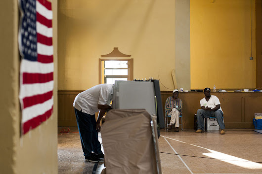Why red state voting laws keep getting struck down