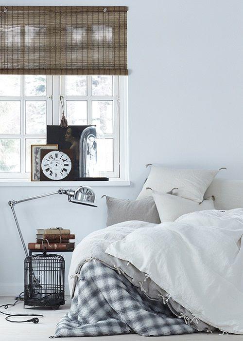 1. Dormitorio de estilo nórdico.