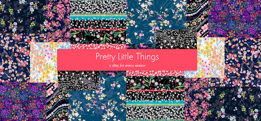 Pattern Textiles - Prints, embroideries and vintage samples