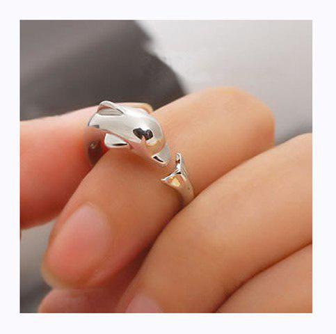 Korea Fashion Stylish Dolphin Ring