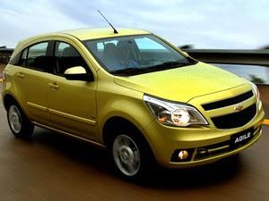 Chevrolet Agile no lançamento, em 2009 (Foto: Divulgação)