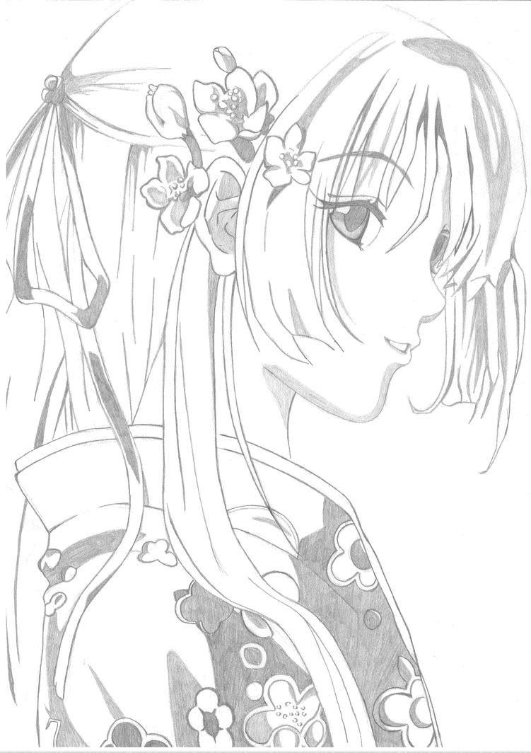 Großartig Süße Manga Malvorlagen Zeitgenössisch - Druckbare ...
