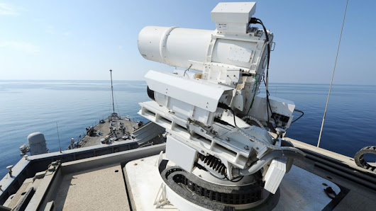 See the Navy's New Futuristic Laser Weapon in Action