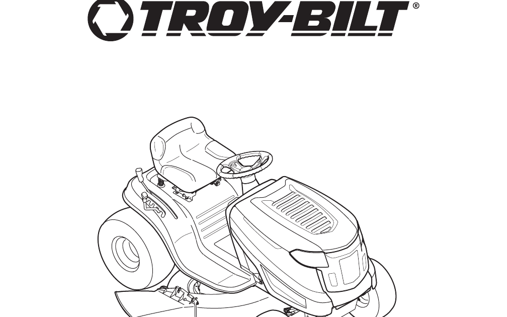 Bestseller: Troy Bilt Owners Manual Pony