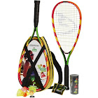 Speedminton S600 Set - Original Speed Badminton / Crossminton Starter Set Including 2 Rackets, 3