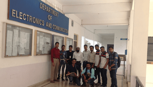 An Unmanned Technology workshop organized by Samhams Technologies in GITS Udaipur India | Tycoonstory