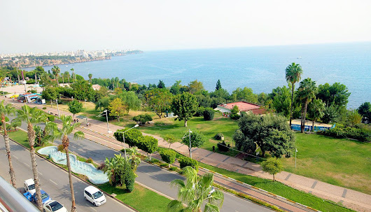 Panoramic Sea View Apartment in Antalya City Center