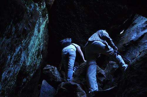 無耳茶壺山山洞內