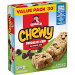 Quaker Chewy Chocolate Chip Bars - 25.2oz/30ct