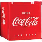 Nostalgia Coca-Cola Series CRF170COKE Refrigerator with Freezer - 1.7 cu ft
