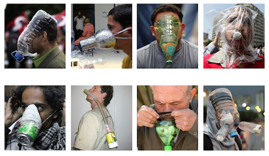 Homemade Gas Masks Show the Ingenuity of Protest | The Creators Project