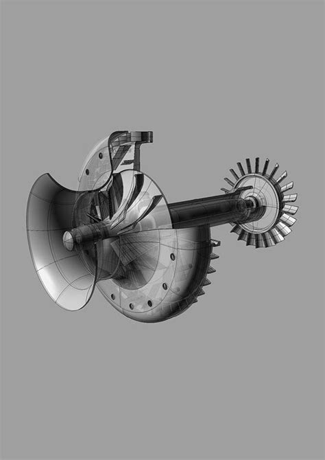 Mini Jet Engine on Behance