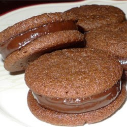 Chocolate Mint-Filled Cookies Recipe
