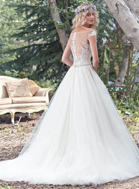 17 Best images about Maggie Sottero Spring 2016 Aracella