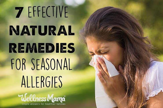 7 Natural Remedies for Allergy Relief | Wellness Mama