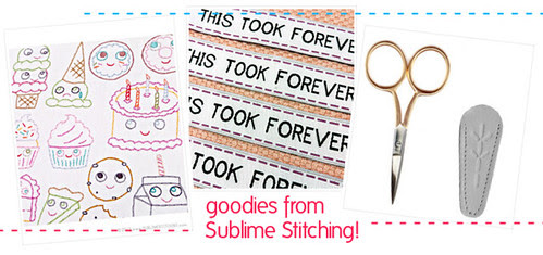 Goodies from Sublime Stitching