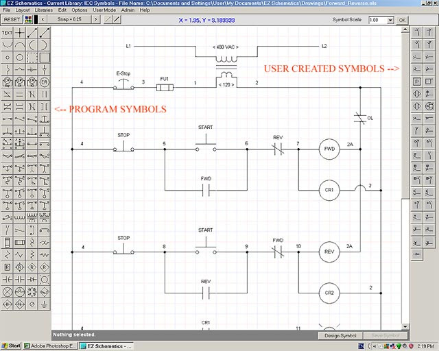 Electrical Schematic Software Relay Logic