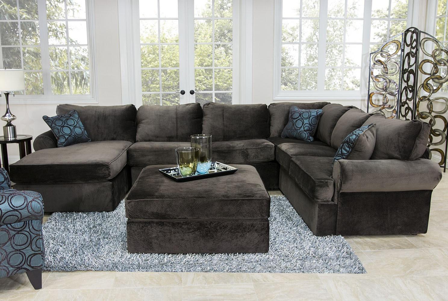 Pennington Blue 5 Pc Living Room - Living Room Sets (Blue)