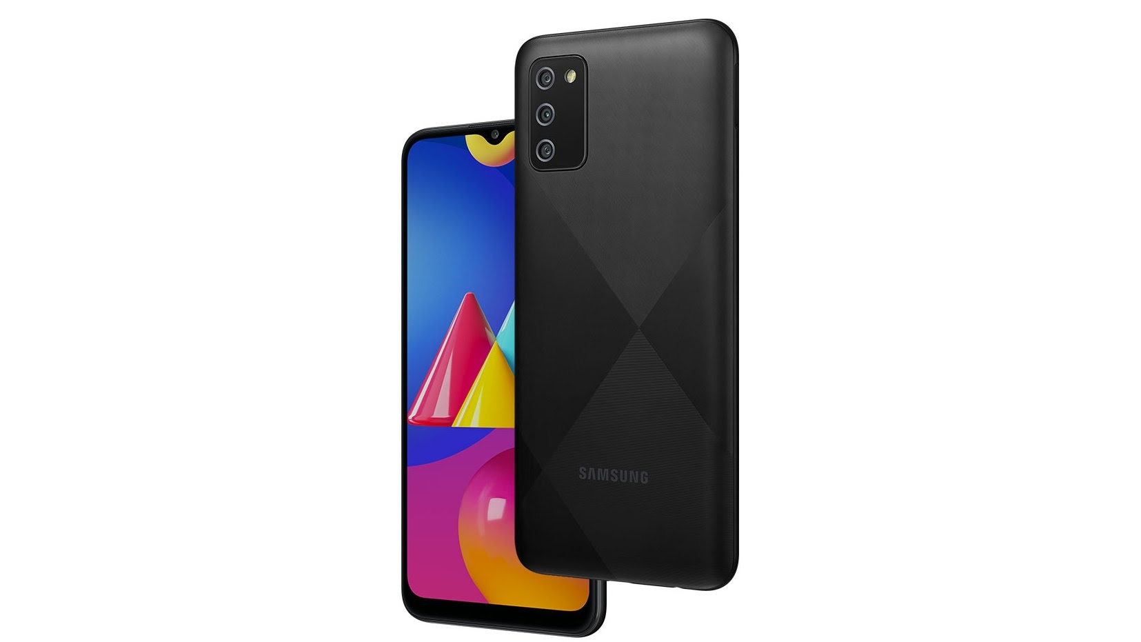 The Samsung Galaxy M02s runs Android 10 with Samsung's OneUI on top. Image: Samsung
