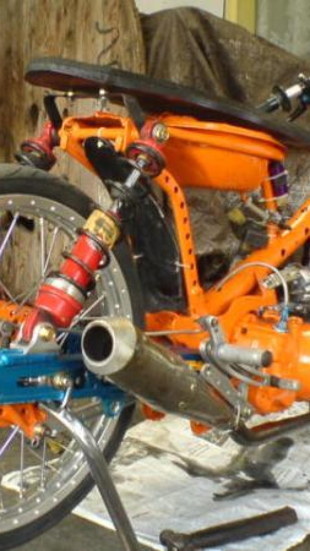 75 Modifikasi Motor Drag Honda Grand Terlengkap Gudeg Motor