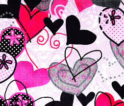 Cute Heart Wallpapers On Colorful Hearts Twitter Layout Background Image