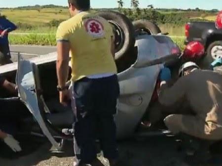 Motorista é arremessado de veículo em acidente na BR-230
