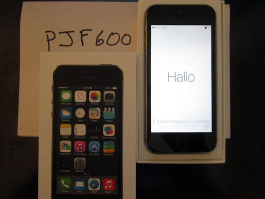Apple iPhone 5S (Verizon) For Sale - $185 on Swappa (PJF600)