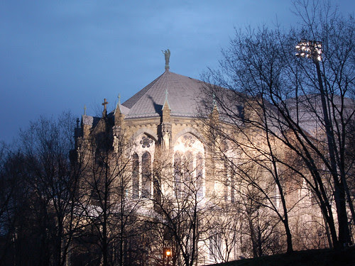 Cathedral and Floodlights