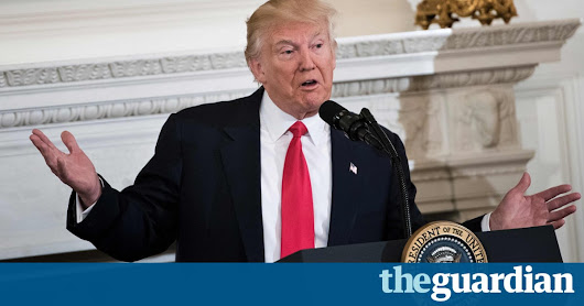 Donald Trump accuses Obama of orchestrating protests against him | US news | The Guardian